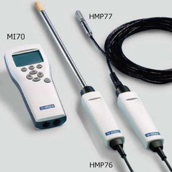 ハンディタイプ湿度温度計スポットチェック用 HM70