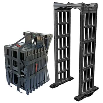 ポータブル式ゲート型金属探知機M-SCOPE