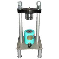 コンクリート圧縮試験機 φ50×H100
