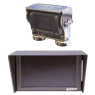 建設機械専用設計バックカメラ&モニターシステム(Fine Eyes Monitor) ESS-BC25W