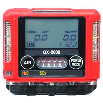 火山ガス検知器 ポケッタブルマルチガスモニターModel GX-2009 TYPE J