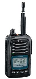 簡易無線機 IC-D50