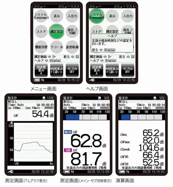 簡単操作/普通騒音計 NL-4