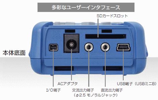 多彩なインターフェース/普通騒音計 NL-4