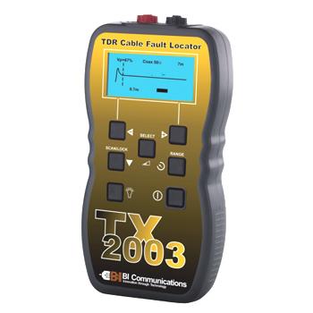 TDRケーブル診断・測長機 TX-2003