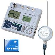 3軸振動計 + 船舶振動測定カード(VM-54、VX-WS)