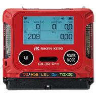 二酸化炭素モニター ポータブルガスモニター GX-3R Pro(CO2)